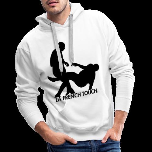 La French Touch. - Sweat-shirt à capuche Premium pour hommes
