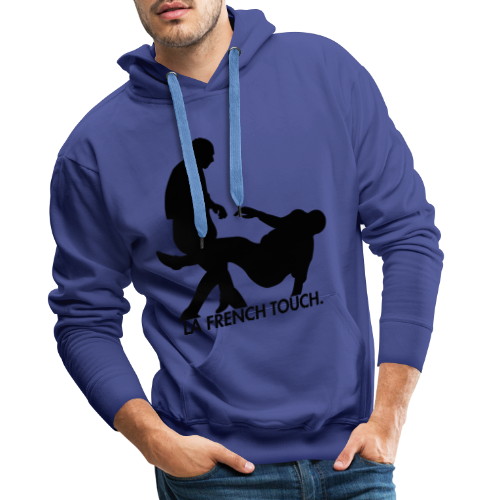 La French Touch. - Sweat-shirt à capuche Premium pour hommes