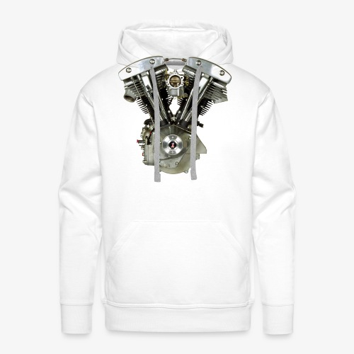 Shovelhead - Sweat-shirt à capuche Premium pour hommes