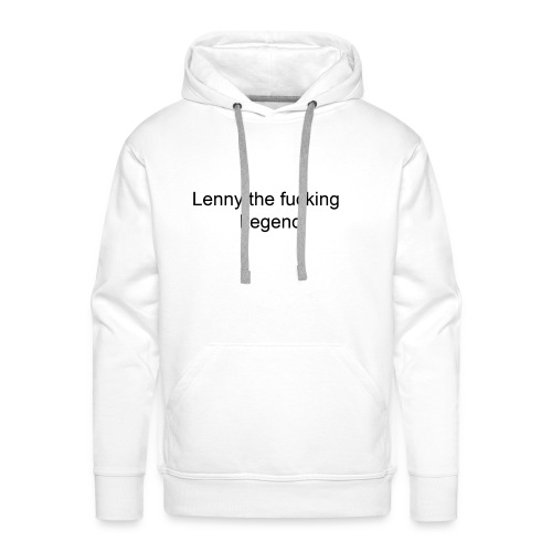 lennytext - Männer Premium Hoodie