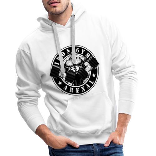 Logo Black 'The Full-Cutted-Stencil-Version' - Sudadera con capucha premium para hombre
