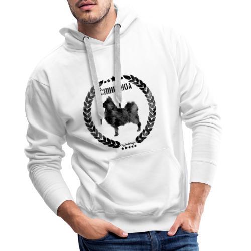 Chihuahua Army Black 2 - Miesten premium-huppari