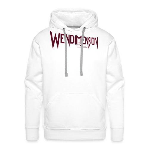 wendimension logo - Miesten premium-huppari