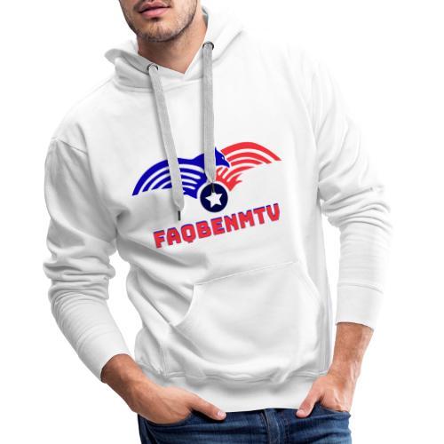 Design motivant - Sweat-shirt à capuche Premium pour hommes