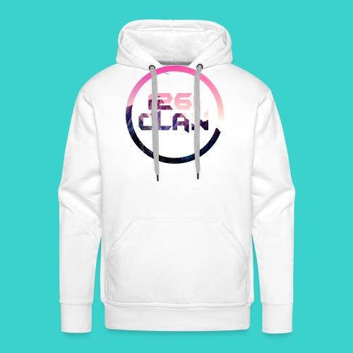1261 Clan Pink Logo - Men's Premium Hoodie