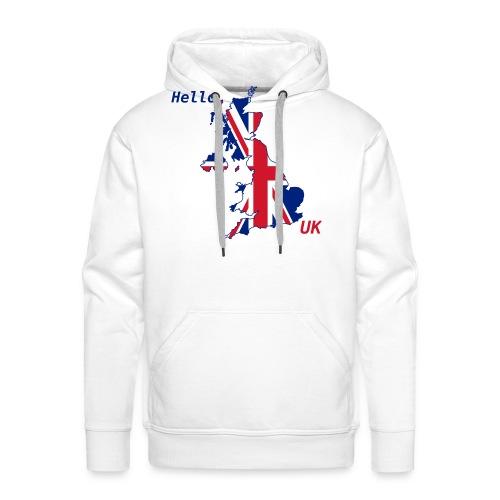 hello UK Kollektion - Männer Premium Hoodie