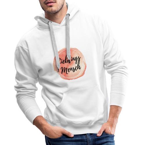 Lieblingsmensch Logo - Männer Premium Hoodie