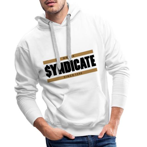 Official Rhyme Syndicate Gold - Men's Premium Hoodie