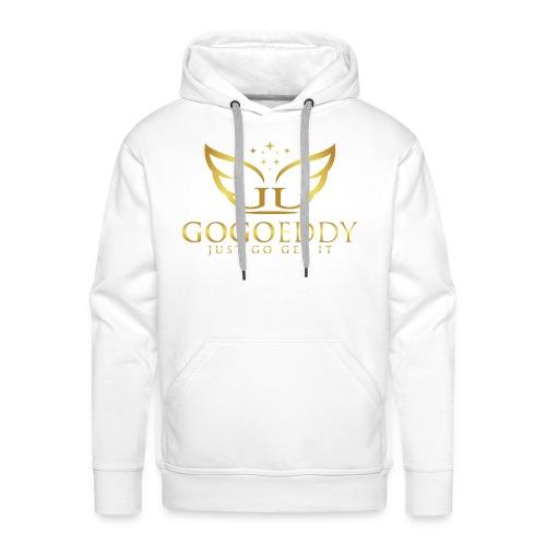 GoGo Eddy Gold Merchandise - Men's Premium Hoodie