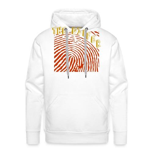 FINGER PRINT 2 - Mannen Premium hoodie