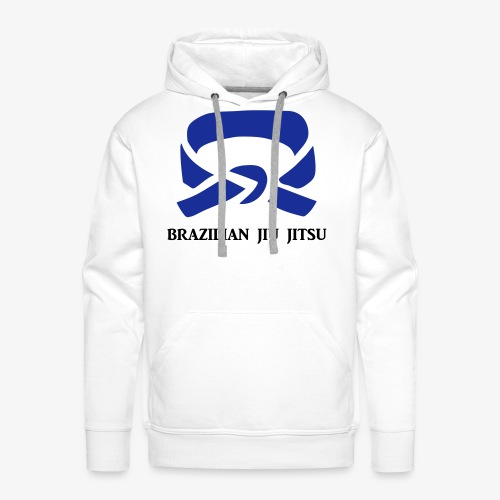 BJJ Blue Belt Clothing - Men's Premium Hoodie