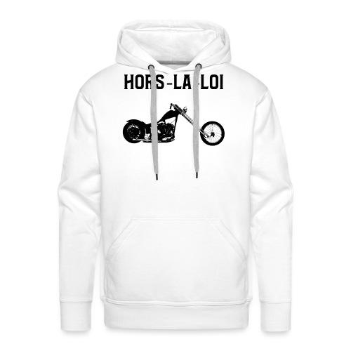 hors-la-loi 2 - Sweat-shirt à capuche Premium pour hommes