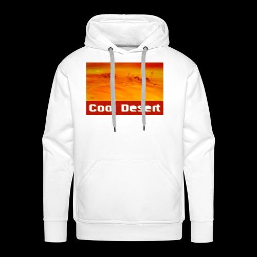 Cool Desert Sahara Motiv - Männer Premium Hoodie