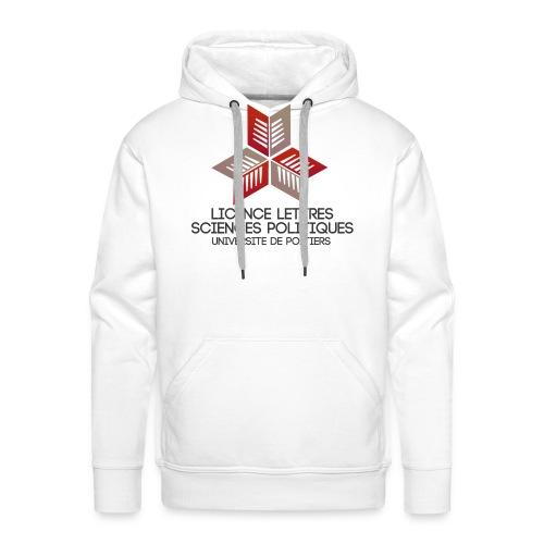 sppodgROUGE2 png - Sweat-shirt à capuche Premium pour hommes