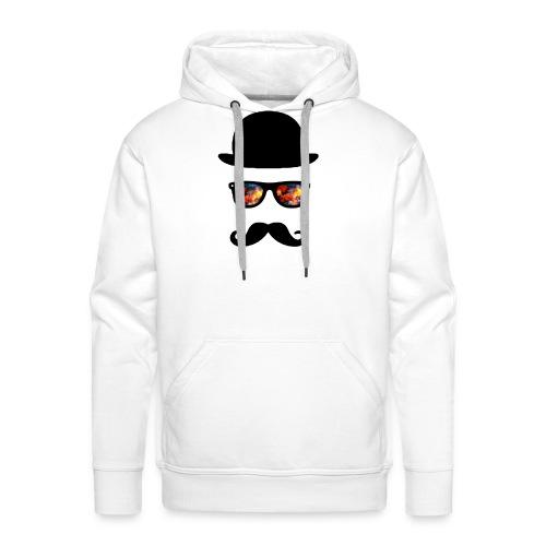 rainbow sunglasses - Sweat-shirt à capuche Premium pour hommes