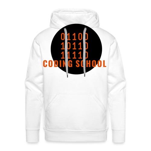 LogoHacker - Sweat-shirt à capuche Premium pour hommes