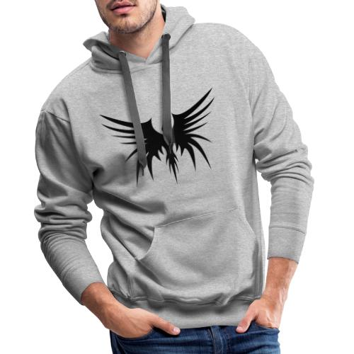 Phoenix Noir - Sweat-shirt à capuche Premium pour hommes