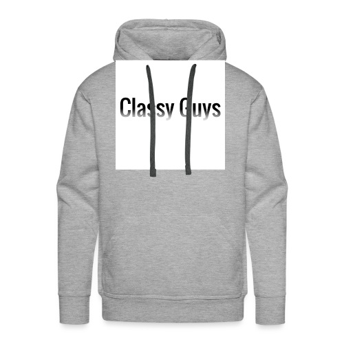 Classy Guys Simple Name - Men's Premium Hoodie