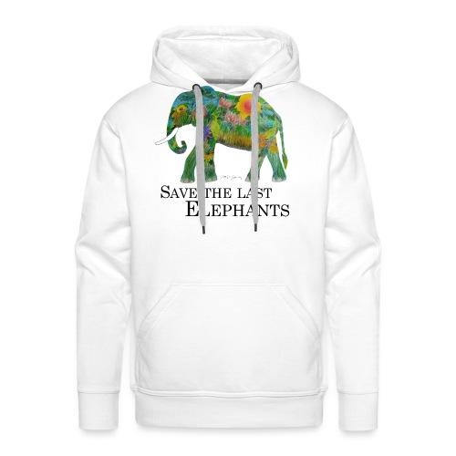 Save The Last Elephants - Männer Premium Hoodie
