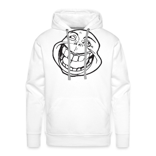 meme face not really by xarity d4es290 png - Mannen Premium hoodie