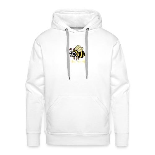 Insectops #3 Abeille - Sweat-shirt à capuche Premium pour hommes