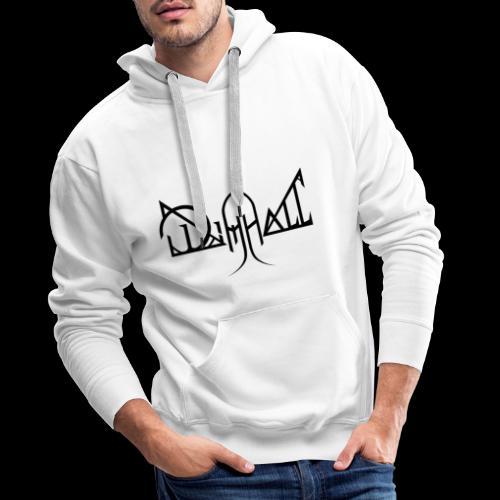 Dimhall Black - Men's Premium Hoodie