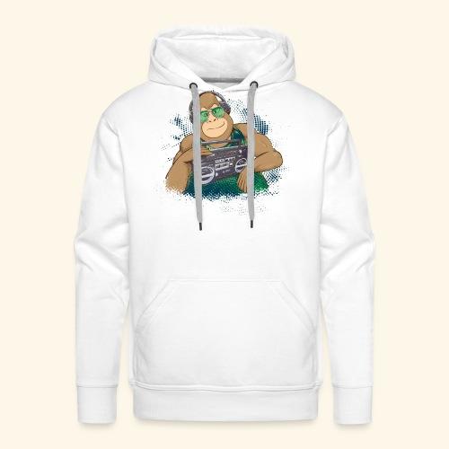Gorilla Jungle Hiphop - Sudadera con capucha premium para hombre