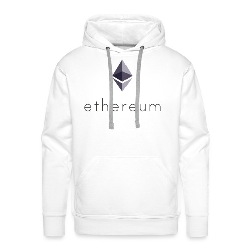 Cryptocurrency - Ethereum (ETH) - Männer Premium Hoodie