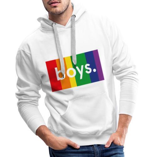 Boys dot flag - Premiumluvtröja herr