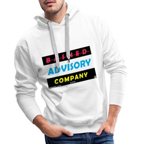 BASHED ADVISORY - Herre Premium hættetrøje
