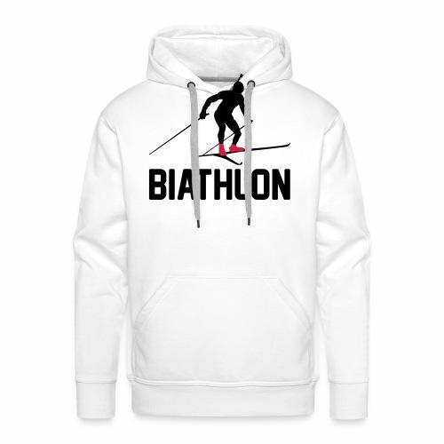 Biathlon - Männer Premium Hoodie