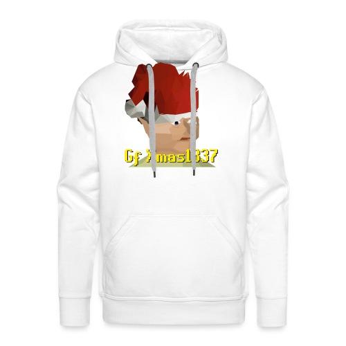 Gnomechild Christmas - Premium hettegenser for menn