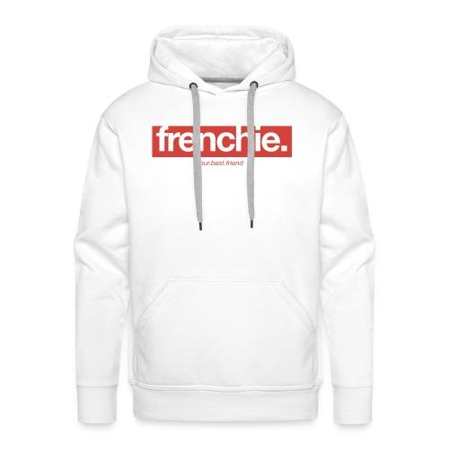 Frenchie Banner - Französische Bulldogge - Männer Premium Hoodie