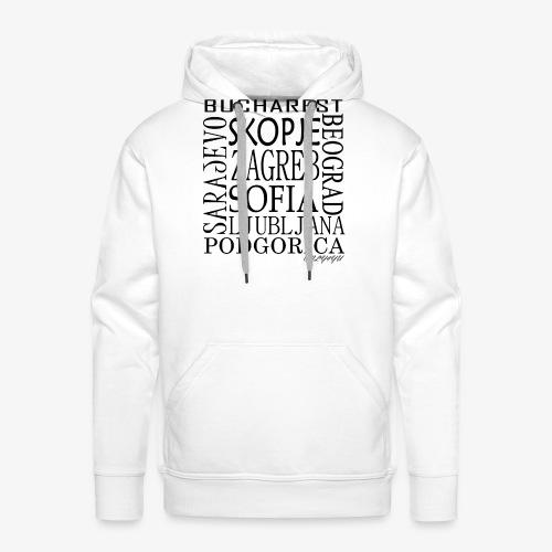 BALKANTOWNS png - Mannen Premium hoodie