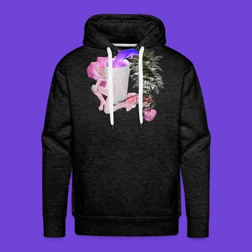 Purple Drank - Felpa con cappuccio premium da uomo