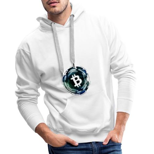 Bitcoin, Kyrptowährung, BTC - Männer Premium Hoodie