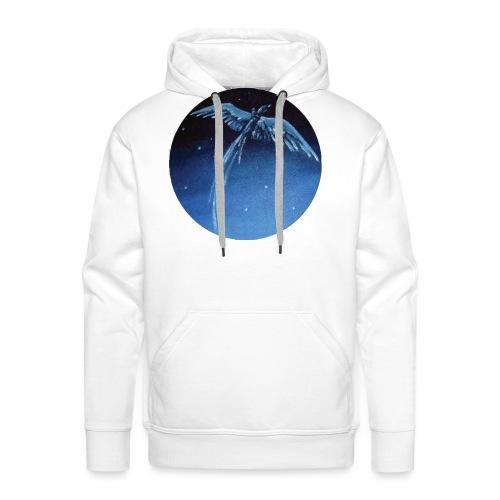 Oiseau Bleu 1 - Sweat-shirt à capuche Premium pour hommes