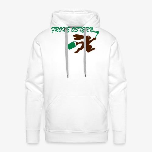 Frohe Ostern Bunny - Männer Premium Hoodie