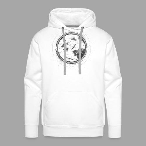 Pleine lune - La valse à mille points - Sweat-shirt à capuche Premium pour hommes