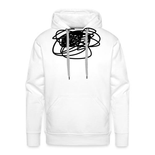 gribouillage - Sweat-shirt à capuche Premium pour hommes