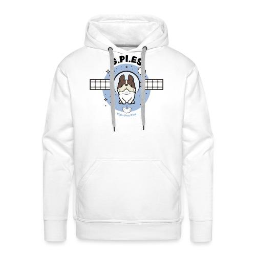 G.Pi.Es - Bluza męska Premium z kapturem