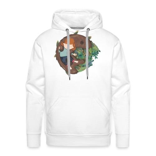 Bear & Kid - Sudadera con capucha premium para hombre