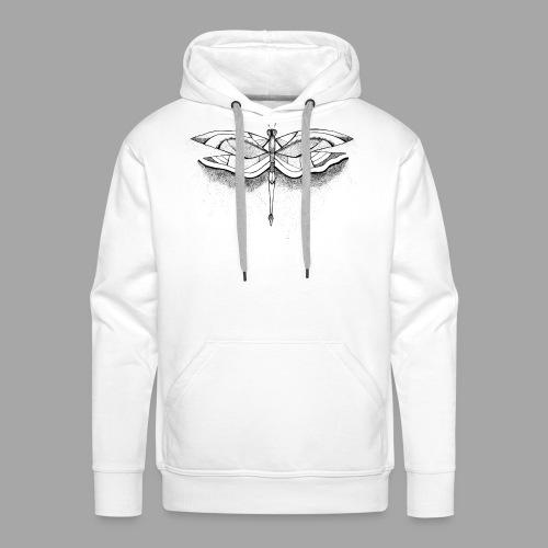 Libellule - La valse à mille points - Sweat-shirt à capuche Premium pour hommes