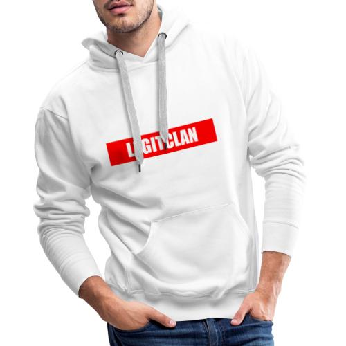 Legitclanrotbalkendesign - Männer Premium Hoodie