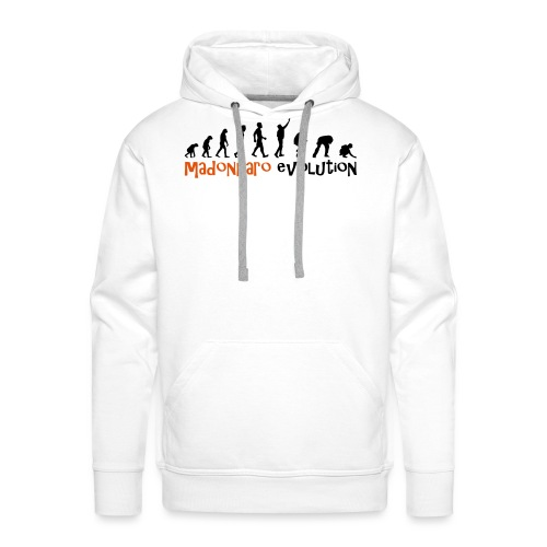 madonnaro evolution original - Men's Premium Hoodie