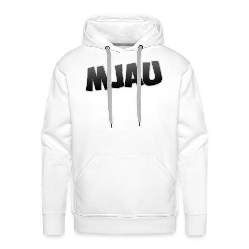 mjau png - Premium hettegenser for menn
