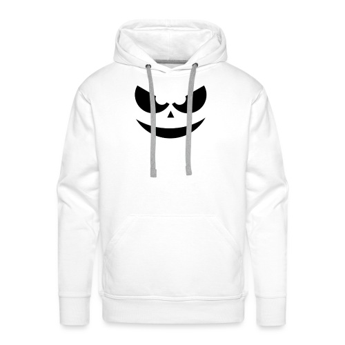 Halloween Scary Face - Männer Premium Hoodie