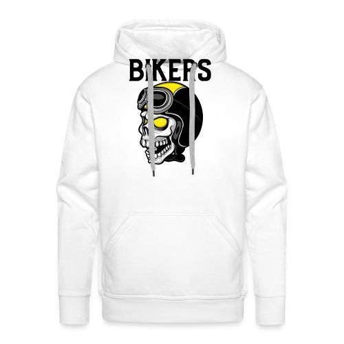 biker 6 - Sweat-shirt à capuche Premium pour hommes