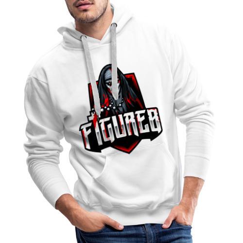 Figure 8 Official - Mannen Premium hoodie
