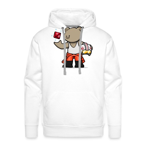 vanguard bear jedi2 - Men's Premium Hoodie